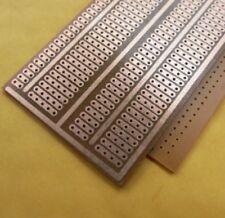9.5x5 Cm PCB Placa Perforada tira Vero Veroboard prototipo circuito experimental 2.54 claro