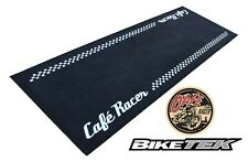 BIKETEK GARAGE MAT CAFÉ RACER PIT MAT TRACKER BOBBER CAFE RACER CUSTOM MAT