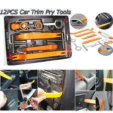 12pcs Car Audio Door Window Dash Trim Removal Tool Set Panel Clip Install Tools