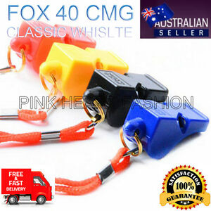 CHEAPEST ON SALE - Fox 40 Classic CMG Referee Outdoor Indoor Sport Safe Whistle