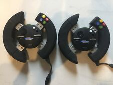 *XBOX * 2 X GAMESTER Pro Racer Steering Wheels Microsoft PAL Prompt Shipping