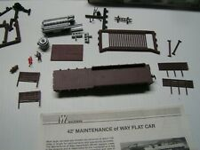 Walthers HO 42' Steel Frame Flatcar Kit,  Southern Pacific
