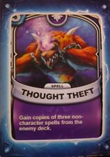 Skylanders Battlecast Collector's Card Spell Thought Theft