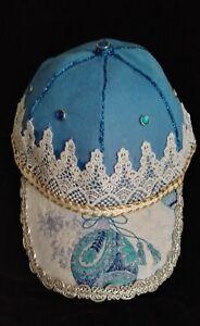 WOMEN'S HAND DECORATED CAP