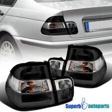 For 1999-2001 BMW E46 3-Series 4Dr Tail Trunk Lights Smoke Replacement