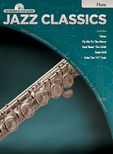 Jazz Classics Play-Along Flute Book/CD Learn to Play Flute Sheet Music Book & CD