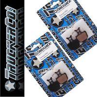 2 pr TruckerCo S High Performance Disc Brake Pads Formula ORO K18 ORO K24 6d04