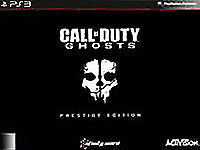 CALL OF DUTY GHOSTS PRESTIGE EDITION SONY PLAYSTATION 3 PS3 BRAND NEW