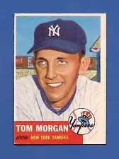 1953 Topps # 132 Tom Morgan SP - New York Yankees - VG/EX+ additional ship free