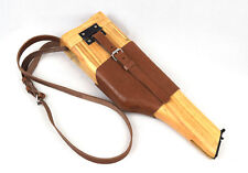 Repro WWII German Mauser C96 Broomhandle Leather Holster And Stock