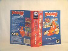 Puggsy -Sega Genesis Art Work Sheet Only! *original Sega*