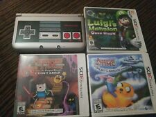 Nintendo 3DS Retro NES Edition Silver Handheld System w/ 3 Games,  Works Perfect