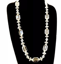 Ann Taylor Loft Womens Sparking Lucite Long Layering Necklace NWT