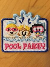 Boy / Girl Scout Pool Party Patch / Badge