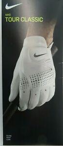 Nike Tour Classic Golf Glove - White - Left Hand - New