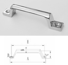 Heavy Duty Stainless Steel Grab Handle with two holes - small - 5""