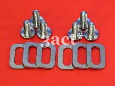 6pcs Titanium Bolts & 6 Ti Spacers - Keo Carbon Ti HM Sprint Classic Pedal Cleat
