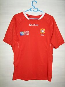 TONGA RUGBY WORLD CUP 2011 SHIRT KOOGA JERSEY SIZE L