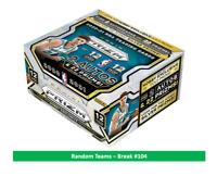 2020-21 Panini Prizm NBA Basketball Hobby Box - Random Team Break - Read Details