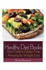 USED (LN) Healthy Diet Books: Raw Food or Gluten Free, Amazing for Weight Loss