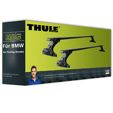 Thule SquareBar - Dachträger - Stahl - für BMW 3er Touring (Kombi) Typ E30 NEU
