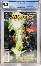 Justice League #31 CGC 9.8 1st Full Jessica Cruz Green Lantern Rare HTF