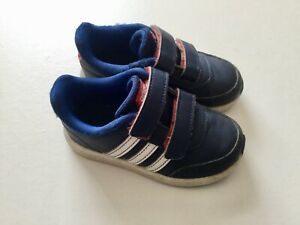 Boys trainers infant Adidas size 7K UK or 24 EUR used little ok condition