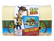 Disney Parks Toy Story Woody's toy Chest Play Set New with Box