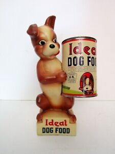 Vintage Ideal Dog Food Store Display by Miller Studio - Circa 1950's or 1960's