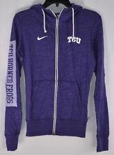 Nike Women's Texas Christian University, TCU, ZIp Up Hoodie, Purple