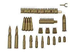 BrickArms Munitions Waffen Set | 29 Custom Teile für LEGO® Figuren