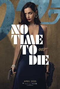 32x48 27x40 24x36 Poster Ana de Armas 007 No Time to Die 2020 Movie Hot Girl 101