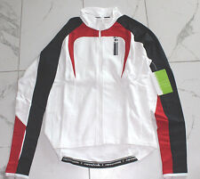 CANNONDALE WHITE RED MEZZO JERSEY WOMENS SZ LARGE MSRP $95 NWT