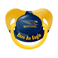 AFL Infant - Dummy - West Coast Eagles - Baby - Child - BNWT