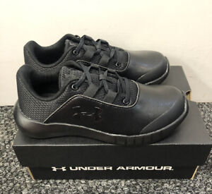 UNDER ARMOUR UA KIDS TRAINERS BLACK UK 11 11.5 13 1 1.5 2.5 IDEAL FOR SCHOOL GYM