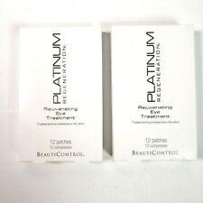 BeautiControl Platinum Regeneration REJUVENATING EYE TREATMENT 24 Patches