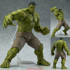 Avengers Figma 271 Hulk Anime Movable Action Hero Figure Toy Doll Model gift