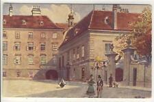 AK Wien I, Heiligenkreuzerhof, Künstler: R. Preuss