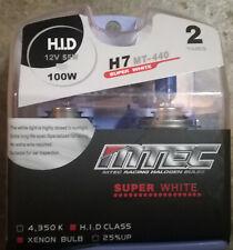 Blue Bulbe MTEC Super White / Ampoule Bleue MTEC H7 Super Blanc