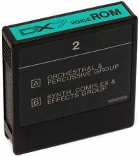 YAMAHA DX-7 DX 7 Voice ROM Card 2 / Original Factory Sounds Werksounds + GEWÄHR