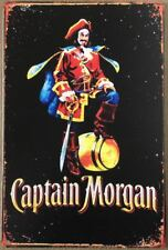 CAPTAIN MORGAN Garage Rustic Look Vintage Tin Signs Man Cave, Shed SIGN