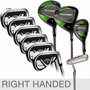 Callaway Edge 10-Piece Golf Club Set Right Handed 10.5 Stiff Flex Shaft