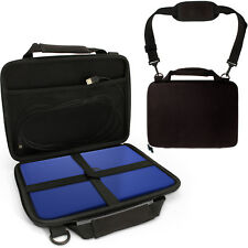 Black EVA Hard Cover Carry Case for HP Stream 11Y000NA & HP Stream 11Y051SA 11.6