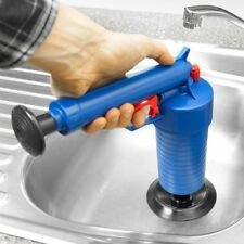 High Pressure Air Drain Blaster Cleaner Toilets Drain Cleaner With 4 Adapters SY