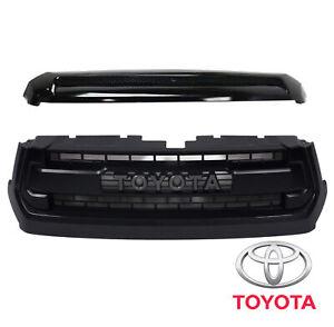 New OEM Toyota TRD PRO Grille & Hood Bulge Black Kit for Tundra 2014-2021 - 202