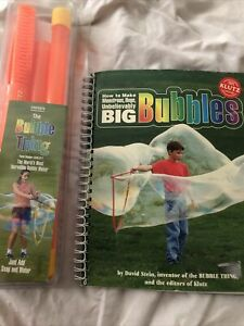 Big Bubble Wand and Book New