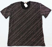 Ladies glitter top Metallic spandex BNWT NEW made in UK Style Plus Large size L