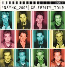 Nsync 2002 Celebrity Tour Book Program Justin Timberlake Lance Bass 073020AMCAL