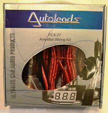 Autoleads PC4-27 60 Amp (720watt) Amplifier Wiring Kit