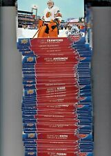2017-18 UPPER DECK SERIES 1 WINTER CLASSIC OVERSIZED COMPLETE YOUR SET U-PICK